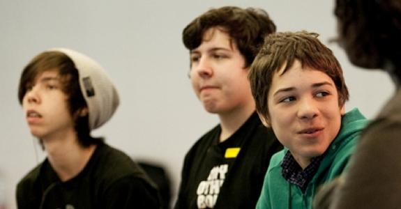 Teenage curators