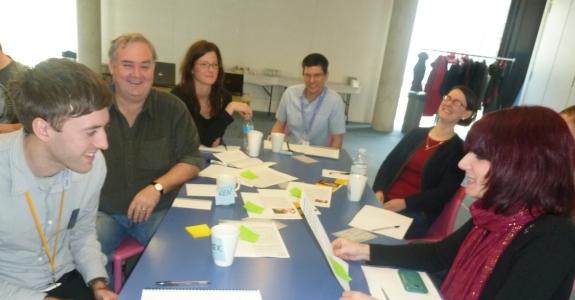 Engineers taking part in a bespoke TextWorkshop this week