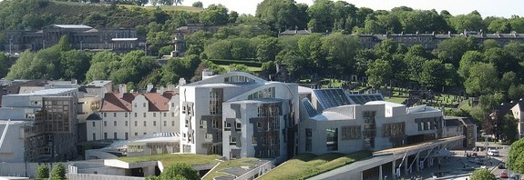 Scottish Parliament by Bernt Rostad