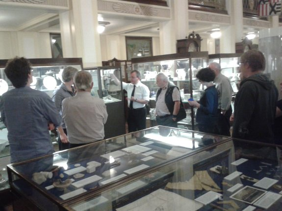 Tour of the Freemasonry Museum