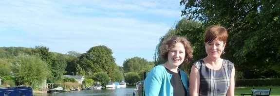 Messing about by the river after our Henley TextWorkshop